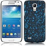 JAMMYLIZARD | 3D Splash Back Cover Hülle für Samsung Galaxy S4 Mini, BLAU
