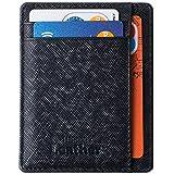 Portafoglio Anti-RFID – Portafoglio Ottimo Sottile & Sicuro Minimalista di Mercor Leather – Materiale di Qualità Superiore in PU Cuoio, Elegante & Salva-Spazio, 7 Tasche Per Carte di Credito & Soldi