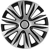 Albrecht Automotive 49406 Radzierblende Flash Viii 16 Zoll 1 Satz Schwarz Grau Auto