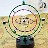 Cosmos colorido Rotatorio máquina de movimiento perpetuo Inicio artware oficina