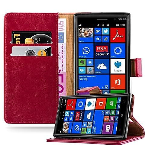 Nokia Lumia 830 Etui - Cadorabo - Luxury Etui Housse pour Nokia
