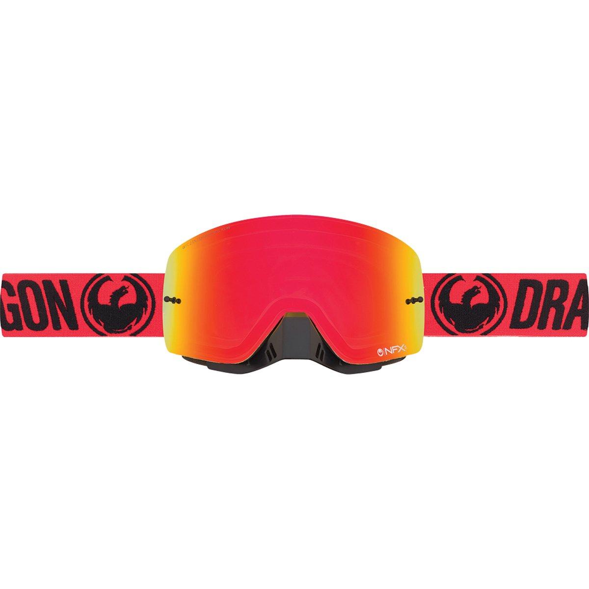 Dragon 29456643802b Maske Radsport Unisex Erwachsene, Break Red