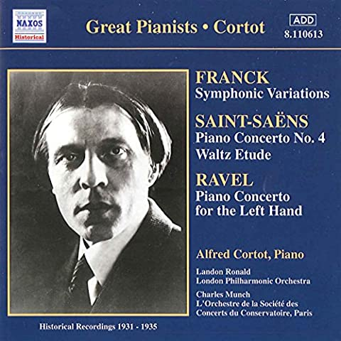 Cesar Franck Symphonie - Great pianists: Historical recordings, 1931-1935 - Frank