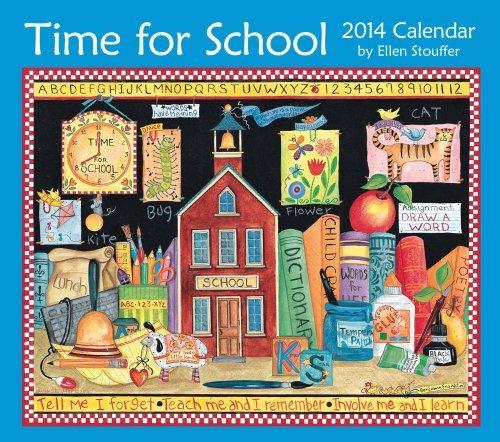 time-for-school-2014-deluxe-wall-calendar-by-ellen-stouffer-2013-06-04