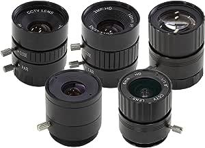 Arducam Cs Mount Objektiv Set Für Raspberry Pi Hq Kamera