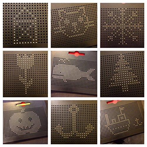 Große Magnetische Kugel Zeichentafel, Magnetkugeltafel, Magnet-Pad, Magnetkugel-Zeichenplatte, 31x 25,5 - Freien Im Buchstaben Board