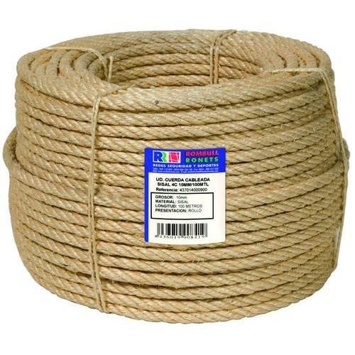 Ronets - Cuerda Cableada Sisal 4C 10Mm 100M.
