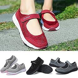 QinMM Zapatos Zapatillas...
