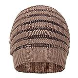 FabSeasons WC59 Acrylic Skull Cap, Men's Free Size (Brown)