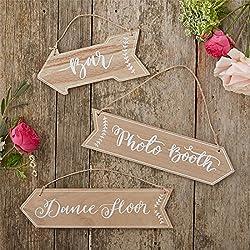 Pack Flechas decoración boda3Unidades, 31x 8cm