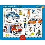 Spiegelburg 13554 Rahmenpuzzle Polizei im Einsatz (40 Teile)