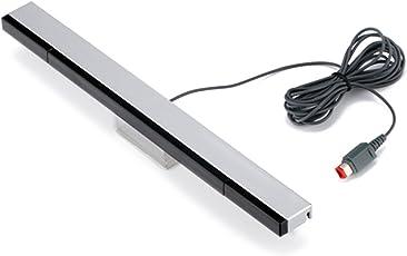 KIMILAR Ersatz Infrarot-LED-Sensor Bar für Nintendo Wii & Wii U, verkabelt enthält klare Haltung
