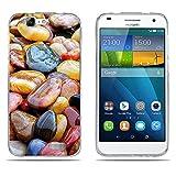 DIKAS Hülle Huawei Ascend G7 (L01 L03 C199), Silicone TPU GlitzerLuxus Slim Handytasche Hüllen Case Ultra Dünn Weich Silikonhülle Soft Transparent für Huawei Ascend G7 (L01 L03 C199) - Pic: 02