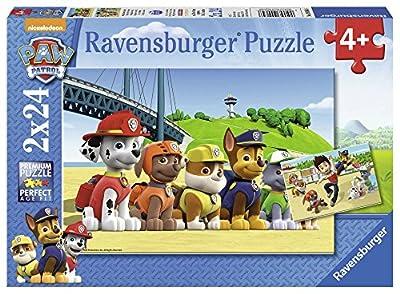 Ravensburger - Puzzle 2 x 24, Paw Patrol A (09064) por Ravensburger