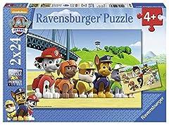 Idea Regalo - Ravensburger Italy- Paw Patrol 2 Puzzle da 24 Pezzi, Multicolore, 90648