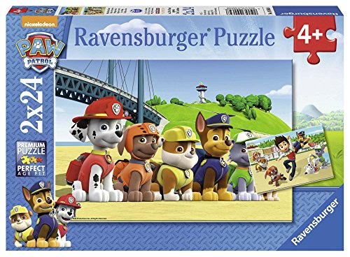 Paw Patrol - Rompecabezas 2 x 24 piezas (Ravensburger 9064)