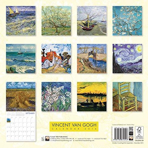 Vincent Van Gogh Wall Calendar 2016 (Art Calendar)