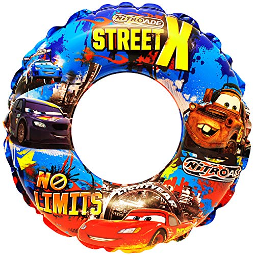 Unbekannt 2 Stück _ Schwimmringe aufblasbar -  Disney Cars - Auto  - 2 bis 6 Jahre - Schwimmreifen & Schwimmhilfe - für Jungen - Kinder Luft / Strandspielzeug - Bades..