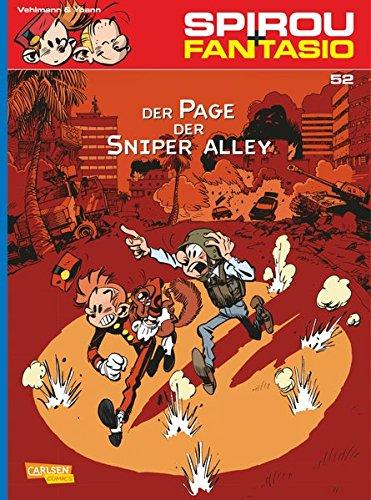 Spirou & Fantasio, Band 52: Der Page der Sniper Alley