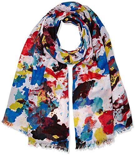 United Colors of Benetton Damen Schal Multicoloured Scarf, Mehrfarbig (Multi), One size (H Preisvergleich