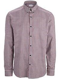SELECTED HOMME Herren Slim Fit Business Hemd One Oak. Shirt Ls Noos Id