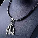 Joyería De Collar Vikingo para Hombres, Amuleto De Espíritu Celta...