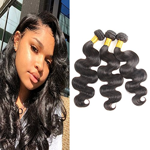 Huarisi 8a Brazilian Body Wave Human Hair 3 Bundles Unprocessed Virgin Hair...