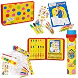 Mr Tumble Something Special School Pencil Case Tin Tube Art Set Paint Crayons