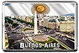 C264 BUENOS AIRES FRIDGE MAGNET ARGENTINA TRAVEL CALAMITA DA FRIGO