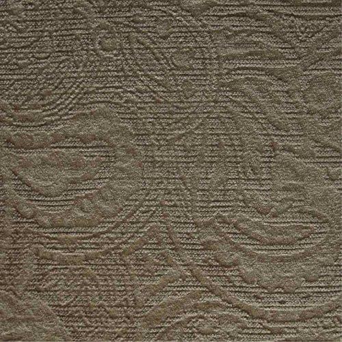 Berkeley Sofa (Berkeley-Kissen Sofa Einrichtung Chenille Paisley Gold ': Beige Material Stoff, feuerbeständig loome Gewebe, Berkeley 'Golden Paisley' : Beige, 10 x 14 cm sample)