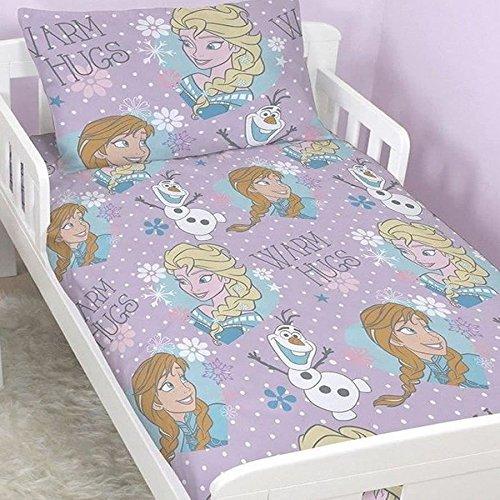 Disney Frozen Kleinkind Betten mit passende Vorhänge mit Sternen (Kids Frozen Kleinkind Bett)