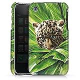 DeinDesign Apple iPhone 3Gs Coque Étui Housse Bébé léopard