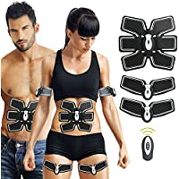2018 new version Muscle Toner, chaungma Ems Abdominal Toning Belt, Abs Toner Body Muscle Trainer,Fitness Equipment For Abdomen/Arm/Leg, Portable Unisex Fitness Training Machine