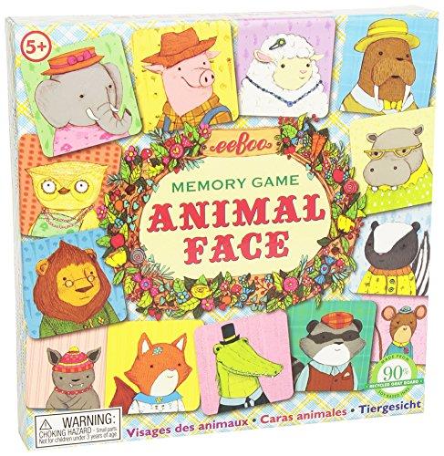 eeBoo - Memo nunca olvido una cara de los animales, juego de...