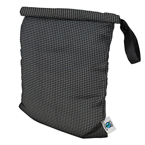 planet-wise-roll-down-wet-diaper-bag-gray-houndstooth-medium