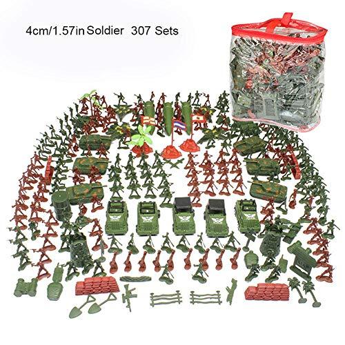 Navigatee soldatini - 307 serie di soldato giocattolo piccolo soldato vestito 4-9cm bambini soldato militare set modello di sabbia tavolo giocattolo militare soldatini vestito