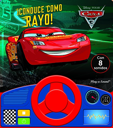 Libro con volante. Cars 3 (LSWHEEL)