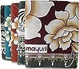 Gangji Solapur Cotton Carpet/Galicha, 90x60 Inches (Multicolour, ANUSKA)