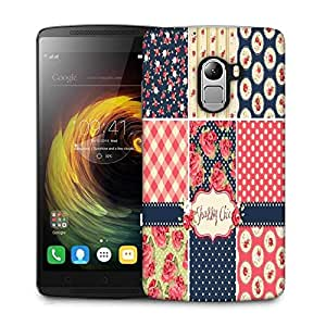 Snoogg shabby chic rose patterns and seamless backgrounds Designer Protective Back Case Cover For Lenovo K4 Note