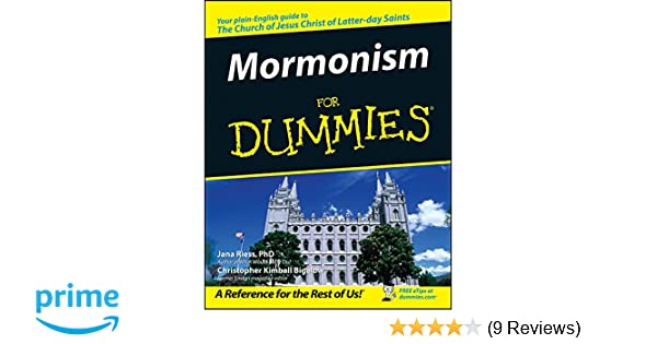 How To Be Mormon For Dummies