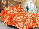 Lali Prints Orange Beautiful leaves 1 do...