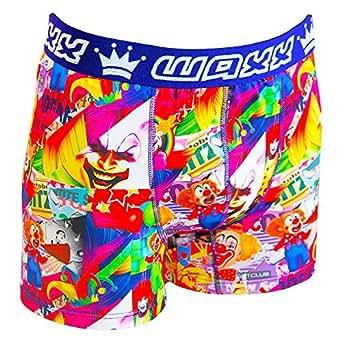 Waxx - Clown boxer - Sous vêtement boxer - Rouge - Taille M