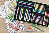 CRAYOLA Crayola-04-0015 Maletín artístico 50 pzas 26x21cm, (04-0015-E-001)