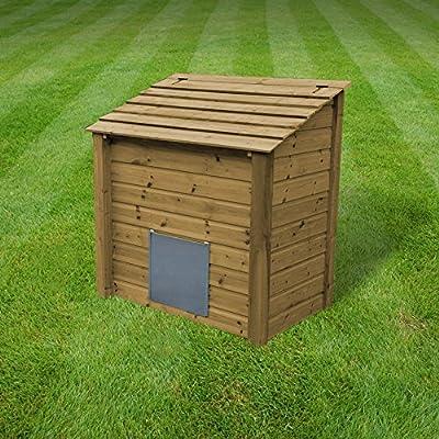 Ridlington Heavy Duty Wooden Coal Store / Coal Bunker