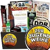 Zur Jugendweihe | Geschenkset Männer | Geschenkset | Zur Jugendweihe | Männer Paket | Jugendweihe Frauen | inkl. DDR Kochbuch