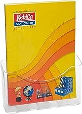 Kebica Brochure Stand Pamphlet Leaflet Marketing Holder A4 Size (8.3 x 11.7 inches)