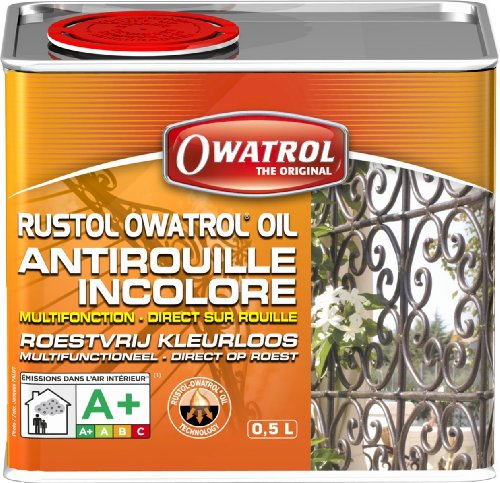 Owatrol Olio Antiruggine Penetrante, 500 ml.