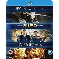 47 Ronin / RIPD / Immortals 3D