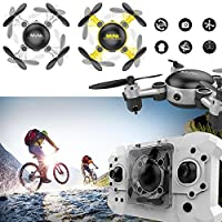 Hanbaili Foldable Mini RC Drone for kids Quadcopte with Altitude Hold 3D Flips Headless Mode Easy Fly for Beginners