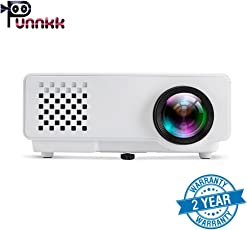 ooze Punnkk P6 Full HD Projector 1000 Lumen 1080P LED LCD Home Theater Projector
